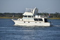 Yacht in Florida, USA Royalty Free Stock Photo