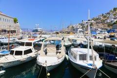Yacht - Grecia Fotografia Stock