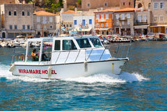 Yacht - Greece Islands Stock Images