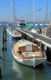 Yacht habour. In Williamstown Melbourne Royalty Free Stock Images