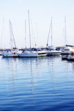 Yacht harbor Stock Photo