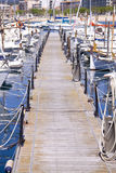 Yacht harbor Royalty Free Stock Image