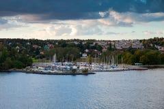 Yacht Harbor Royalty Free Stock Photos
