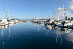 Yacht harbor Stock Photography
