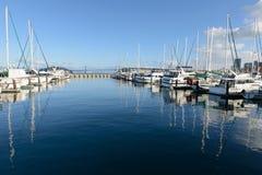 Yacht harbor. Yacht and boats at pier 39 San Francisco, California Stock Photography
