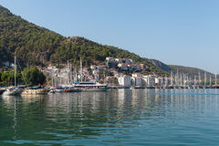 Yacht harbor, Fethiye, Turkey Royalty Free Stock Photography