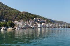Yacht harbor, Fethiye, Turkey Royalty Free Stock Photography