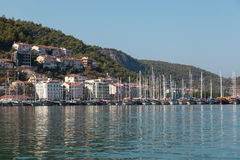 Yacht harbor, Fethiye, Turkey Stock Image