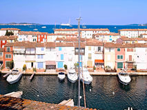 Yacht Harbor in Port Grimaud, France Stock Image