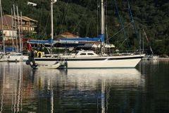 Yacht harbour Royalty Free Stock Images