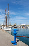 Yacht harbour in Barcelona Stock Photography