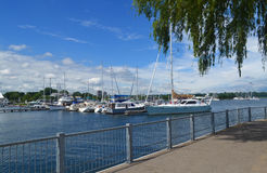 Yacht Harbour. Stock Photography
