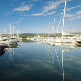 Yacht harbour in North Queensland, Australia Royalty Free Stock Photos