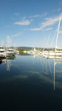 Yacht harbour in North Queensland, Australia Royalty Free Stock Images