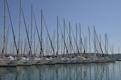 Yacht harbour in Split Royalty Free Stock Image