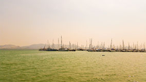 Yacht Haven Marina Phuket Thailand Royalty Free Stock Photos