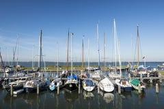 Yacht i Marken Arkivbild