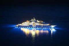 Yacht im adriatischen Meer Lizenzfreie Stockfotografie