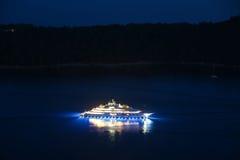 Yacht im adriatischen Meer Stockfotografie
