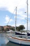 Yacht intéressant Photos stock
