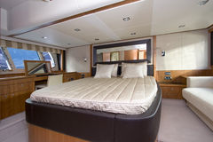 Yacht Interior Royalty Free Stock Photography