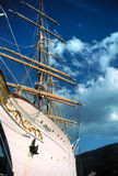 Yacht in Isle of Elba. Royalty Free Stock Image