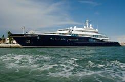 Yacht Kärntens VII, Venedig Stockbild