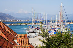 Yacht-Klumpen Lizenzfreie Stockfotos