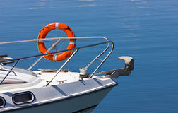 Yacht life guard Royalty Free Stock Images