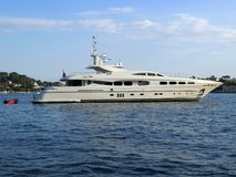 Yacht lisse Images stock