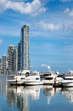 Yacht lussuosi Immagini Stock Libere da Diritti
