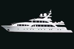 Yacht lussuoso Fotografia Stock Libera da Diritti