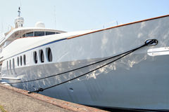 Yacht méga Images libres de droits