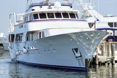 Yacht méga Image libre de droits