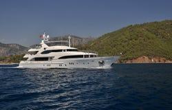 Yacht méga Photo stock
