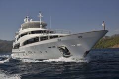 Yacht méga Images stock