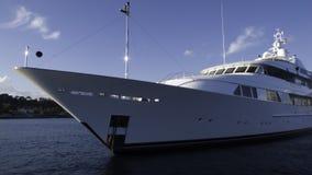 Yacht méga Barbara Jean Images libres de droits