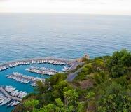 Yacht marina Royalty Free Stock Photos