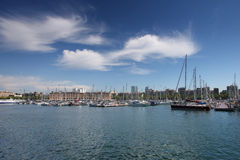 Yacht marina Royalty Free Stock Images