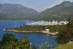 Yacht marina Royalty Free Stock Photography