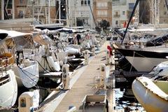 Yacht Marina, Grand Harbour,Vittoriosa, Malta Royalty Free Stock Image