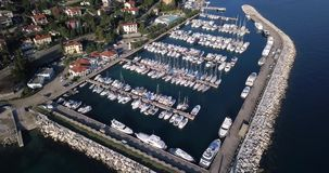 Yacht Marina Icici stock video footage