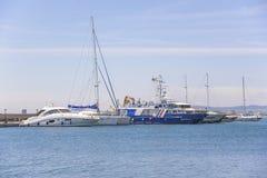 Free Yacht Marina In St. Vlas, Bulgaria. Royalty Free Stock Images - 72207279