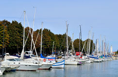 Yacht marina Royalty Free Stock Photo