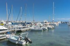 Yacht marina in Paphos Stock Photos
