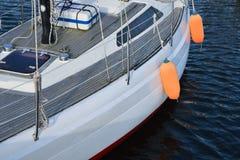 Yacht marina Stock Images