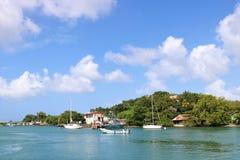 Castries marina, St Lucia Royalty Free Stock Image