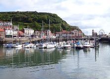 Yacht marina in Scarborough Royalty Free Stock Photo
