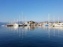 Yacht marina royalty free stock image