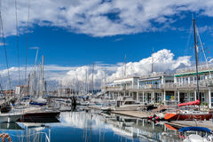 The yacht marina in Trieste Royalty Free Stock Image